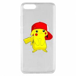 Чехол для Xiaomi Mi Note 3 Pikachu in a cap