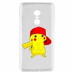 Чехол для Xiaomi Redmi Note 4 Pikachu in a cap