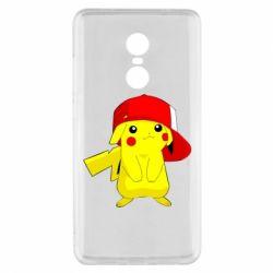 Чехол для Xiaomi Redmi Note 4x Pikachu in a cap