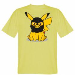 Чоловіча футболка Pikachu in balaclava