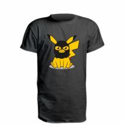 Удлиненная футболка Pikachu in balaclava