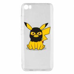Чехол для Xiaomi Mi5/Mi5 Pro Pikachu in balaclava
