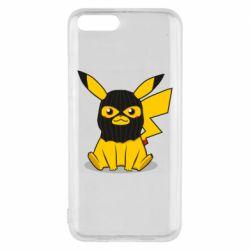 Чехол для Xiaomi Mi6 Pikachu in balaclava