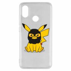 Чехол для Xiaomi Mi8 Pikachu in balaclava