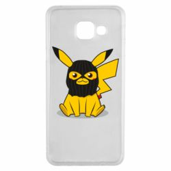 Чохол для Samsung A3 2016 Pikachu in balaclava