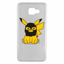 Чохол для Samsung A7 2016 Pikachu in balaclava