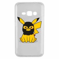 Чохол для Samsung J1 2016 Pikachu in balaclava