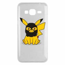 Чохол для Samsung J3 2016 Pikachu in balaclava