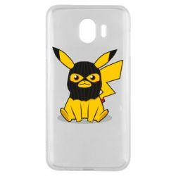 Чохол для Samsung J4 Pikachu in balaclava