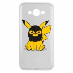 Чохол для Samsung J7 2015 Pikachu in balaclava
