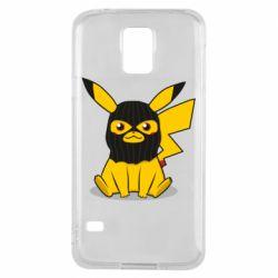 Чохол для Samsung S5 Pikachu in balaclava