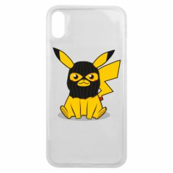 Чехол для iPhone Xs Max Pikachu in balaclava