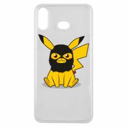 Чохол для Samsung A6s Pikachu in balaclava