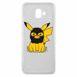 Чохол для Samsung J6 Plus 2018 Pikachu in balaclava
