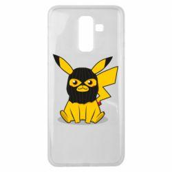 Чехол для Samsung J8 2018 Pikachu in balaclava