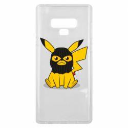 Чохол для Samsung Note 9 Pikachu in balaclava