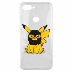 Чехол для Xiaomi Mi8 Lite Pikachu in balaclava