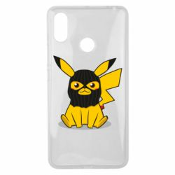 Чехол для Xiaomi Mi Max 3 Pikachu in balaclava