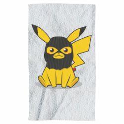 Полотенце Pikachu in balaclava