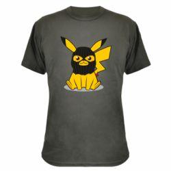Камуфляжна футболка Pikachu in balaclava