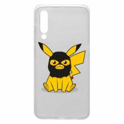 Чехол для Xiaomi Mi9 Pikachu in balaclava