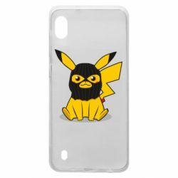 Чехол для Samsung A10 Pikachu in balaclava