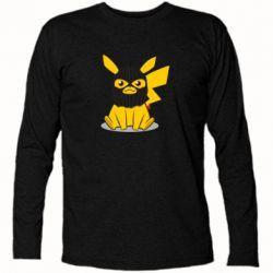 Футболка з довгим рукавом Pikachu in balaclava