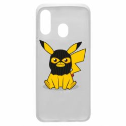 Чохол для Samsung A40 Pikachu in balaclava