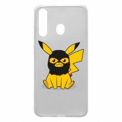 Чохол для Samsung A60 Pikachu in balaclava