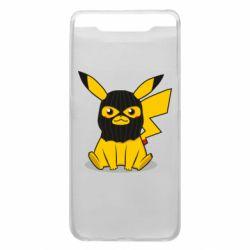 Чохол для Samsung A80 Pikachu in balaclava