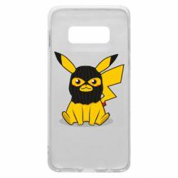 Чехол для Samsung S10e Pikachu in balaclava