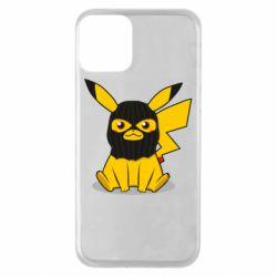 Чохол для iPhone 11 Pikachu in balaclava