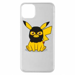 Чехол для iPhone 11 Pro Max Pikachu in balaclava