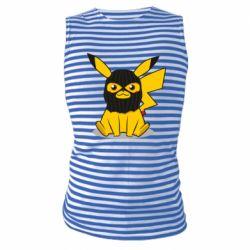 Майка-тільняшка Pikachu in balaclava