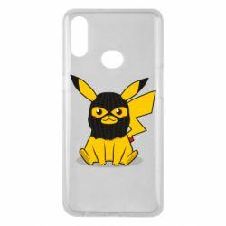 Чохол для Samsung A10s Pikachu in balaclava