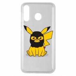 Чохол для Samsung M30 Pikachu in balaclava