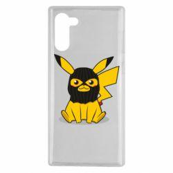 Чохол для Samsung Note 10 Pikachu in balaclava