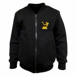 Дитячий бомбер Pikachu in balaclava