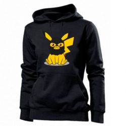 Толстовка жіноча Pikachu in balaclava