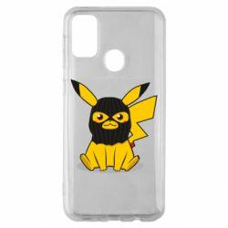 Чохол для Samsung M30s Pikachu in balaclava