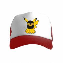 Детская кепка-тракер Pikachu in balaclava
