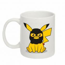 Кружка 320ml Pikachu in balaclava