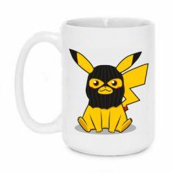 Кружка 420ml Pikachu in balaclava