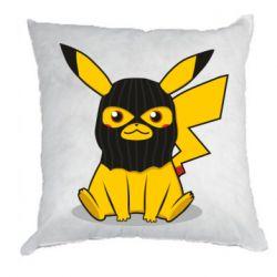Подушка Pikachu in balaclava