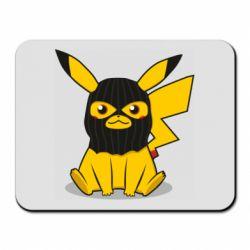 Коврик для мыши Pikachu in balaclava