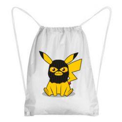 Рюкзак-мешок Pikachu in balaclava