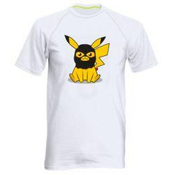 Чоловіча спортивна футболка Pikachu in balaclava