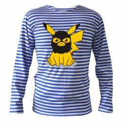 Тельняшка с длинным рукавом Pikachu in balaclava