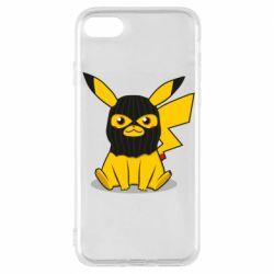 Чохол для iPhone 7 Pikachu in balaclava