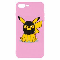 Чохол для iPhone 7 Plus Pikachu in balaclava